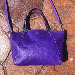 Coach Purple Crossbody Bag